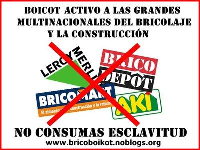 Boicot a brico mart brico depot leroy merlin y las - Banco de trabajo brico depot ...