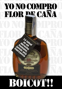 boicot flor de caña