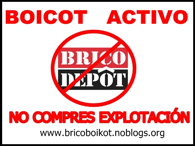 Boicot a brico mart brico depot leroy merlin y las grandes superficies del bricolaje y la - Banco de trabajo brico depot ...