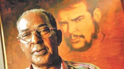 Pombo, mítico guerrillero de la columna del Che Guevara..jfif