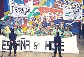 Andalucia chirigota España go home 2002.jpg