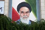 Ayatolá Jomeini, líder de la revolucón islámica. Foto Carlos de Urabá.JPG