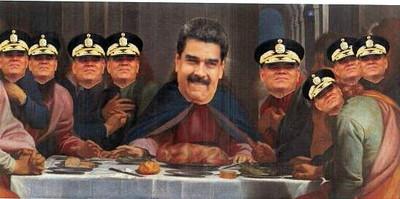 la Última cena de Maduro. Carlos de Urabá.jpg