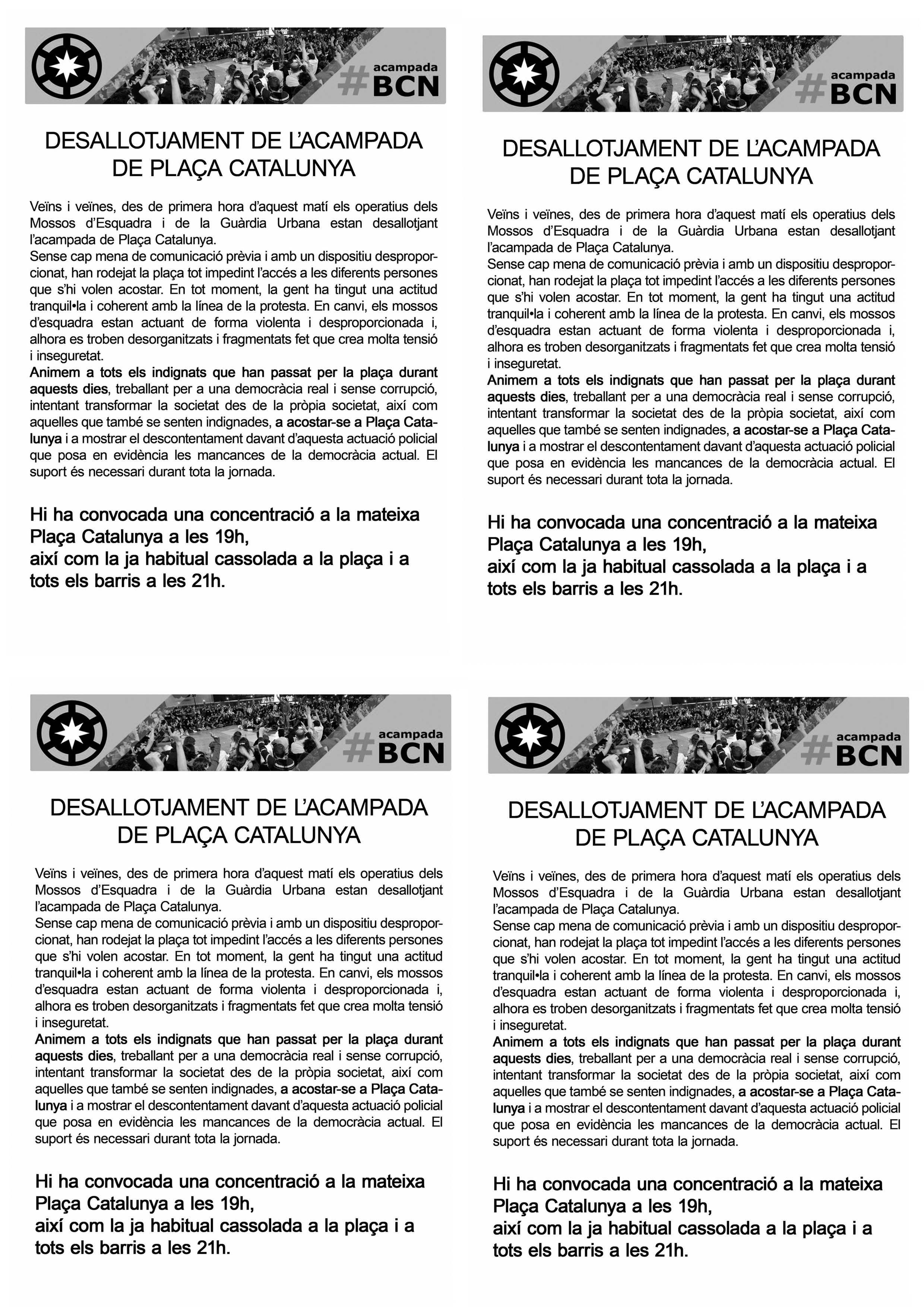 Videos De Los Mossos De Escuadra Acampadabcnx