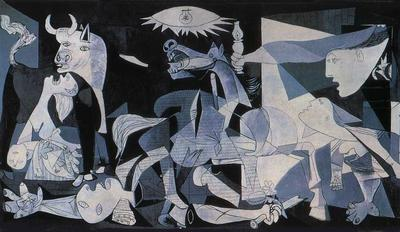 """Guernica"" by Picasso, 1937 - Oil on Canvas"