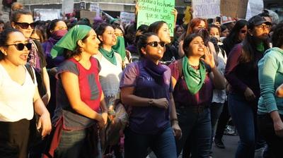 marcha contra los feminicidios en México XIV. Foto Carlos de Urabá.JPG