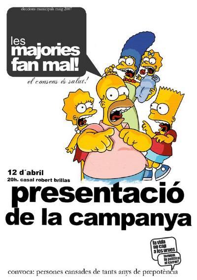 www_cartell presentacio les majories fan mal 12abril07 simpsons.jpg