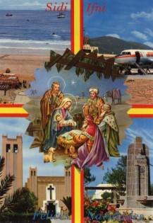 Marruecos Postal navidades coloniales Sidi Ifni.jpg
