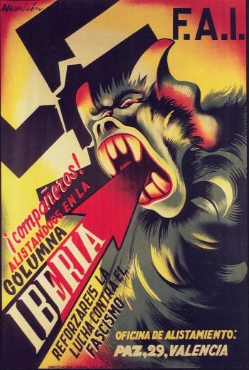 affiche-1936-monleon-colonne-iberia-en-rejoigant-la-colonne.jpg