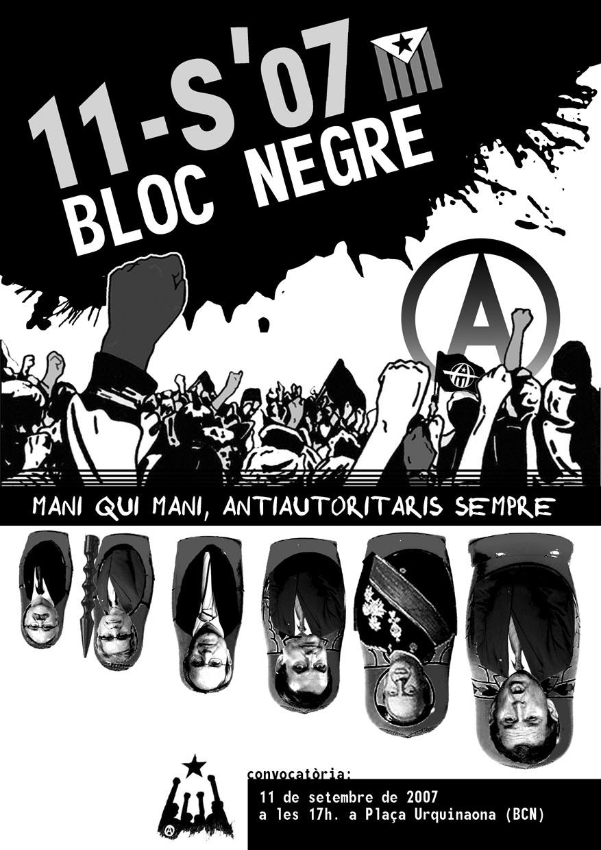 11 setembre Bloc Negre