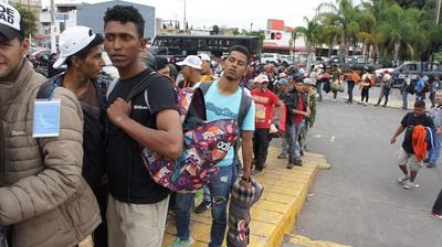 Migrantes Centroamericanos a su paso por Jalisco. Foto Carlos de Urabá.JPG