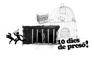 W-pajarito 10 dies a preso.jpg