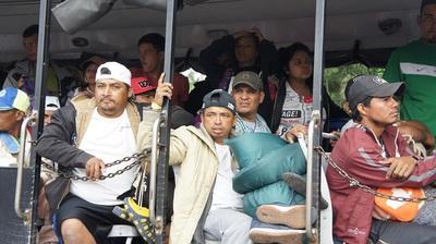 migrantes centroamericanos en Jalisco. Foto carlos de Urabá.JPG