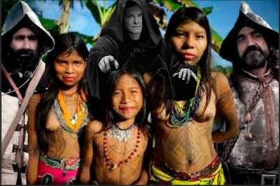 violencia sexual contra las mujeres indígenas de América III. Montaje Yuma BB.JPG