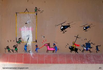 el arte es basura_art is trash_francisco de pajaro_barcelona arte urbano_® JEI_P3050158_05.03.2014.jpg